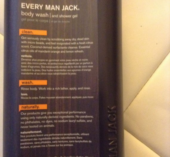 Every Man Jack Citrus Scrub Body Wash