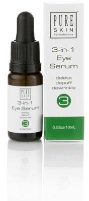Pure Skin Formulations 3-in-1 Eye Serum