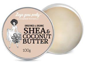 Zoya goes pretty – Unrefined and Organic Shea & Coconut Butter