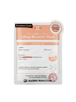 Leaders Insolution – Coconut Gel Lifting Recovery Mask (pink)