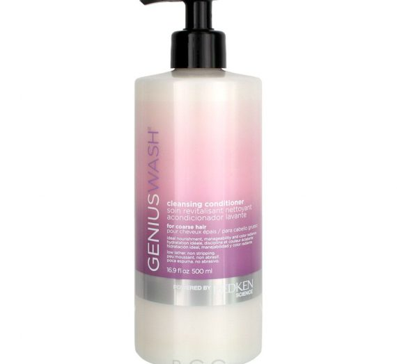 Genius Wash Cleansing Conditioner for Coarse
