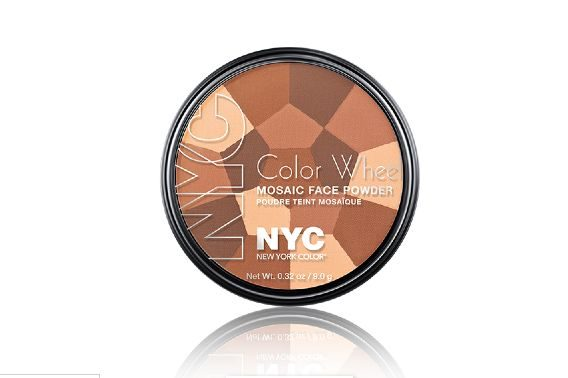 Color Wheel Mosaic Face Powder in Bronze Glow