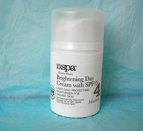 nspa Brightening Day Cream with SPF15