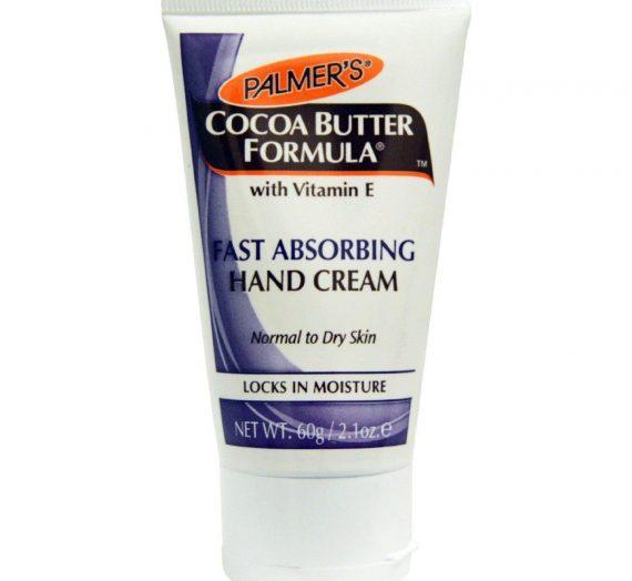Fast absorbing hand cream