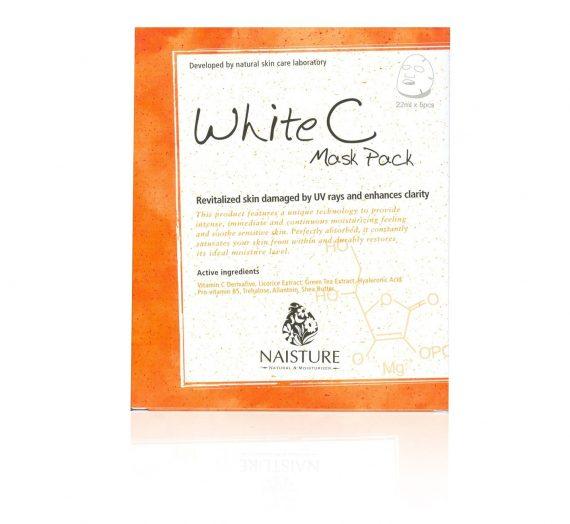 Naisture – White C Mask Pack (Cotton Sheet Mask)