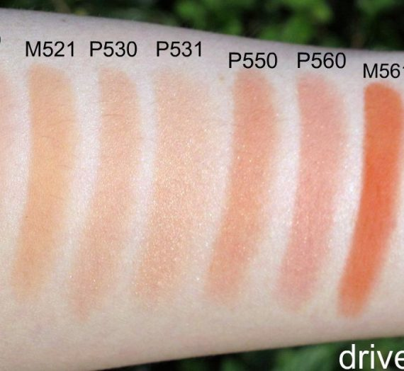 Glow On – P Medium Peach 560
