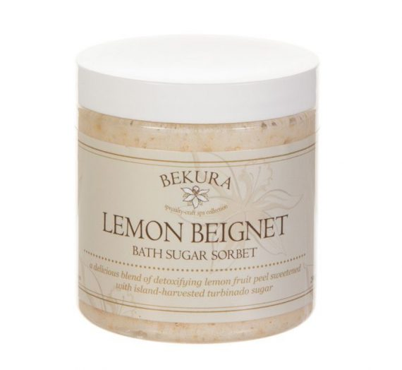 Bekura Beauty – Lemon Beignet Bath Sugar Sorbet