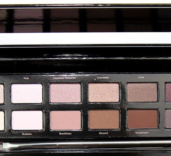 Rose Gold 12 Piece Natural Eye Shadow Palette
