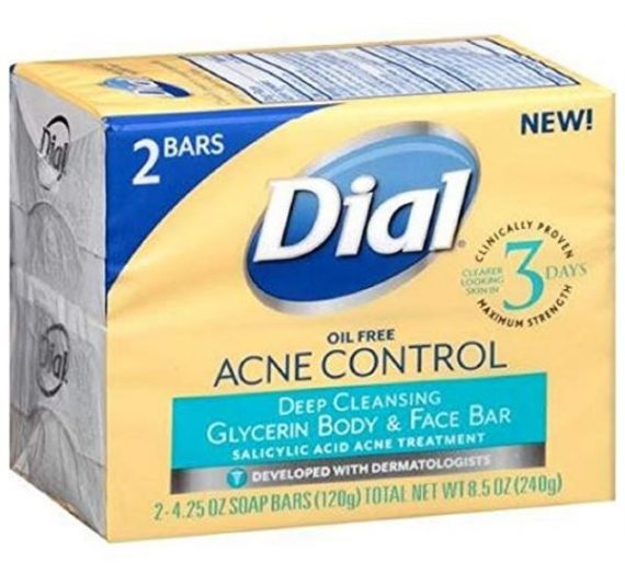 ACNE CONTROL Deep Cleansing Glycerin Body & Face Bar