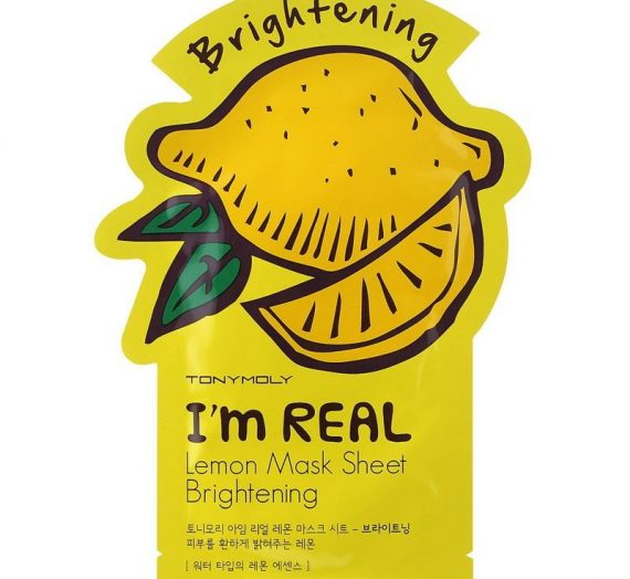 I'M REAL Lemon Mask Sheet Brightening