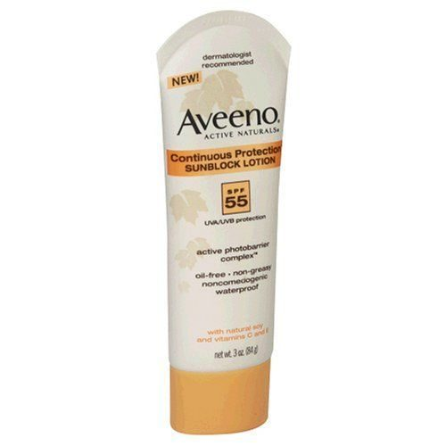 Active Naturals Continuous Protection Sunblock Lotion SPF 55