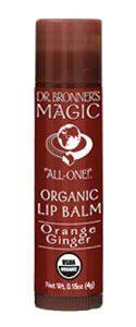 Organic Lip Balm – Orange Ginger
