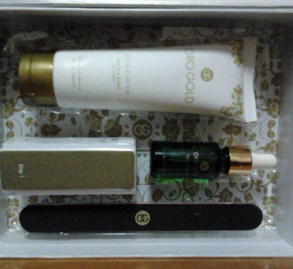 Oro Gold Hyacinth Nail Kit