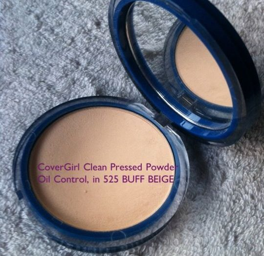 Clean Matte Oil Control Pressed Powder