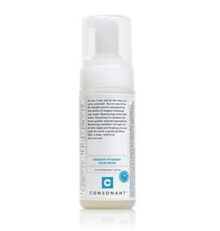 Consonant – Organic Foaming Face Wash [DISCONTINUED]