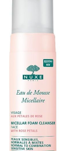 Micellar Foam Cleanser with Rose Petals