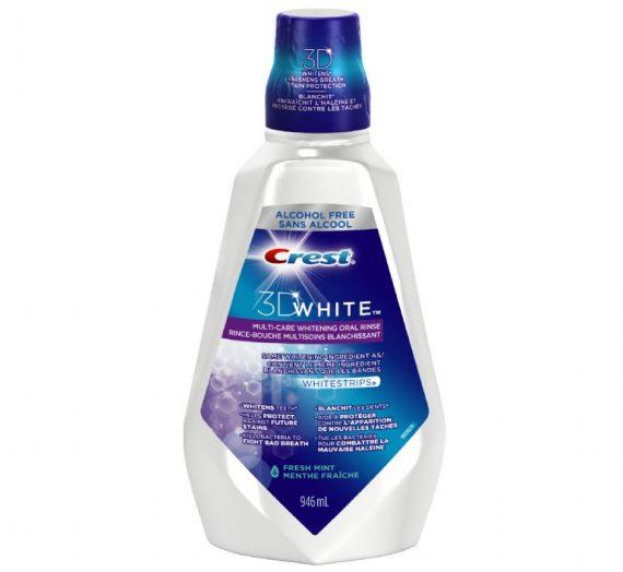 crest whitening rinse