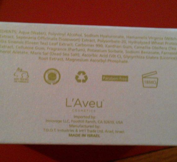 L'Aveu – Facial Exfoliating Gel
