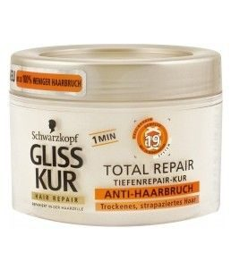 Gliss Total Repair Anti-Hairbreakage mask for dry and damaged hair