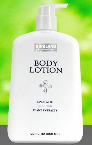 Kirkland Costco Body Lotion