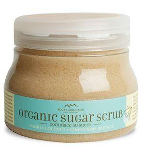 Rocky Mountain Soap Company – Vanilla Coconut Organic Sugar Scrub