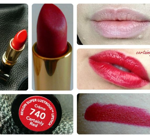 Super Lustrous Creme – Certainly Red 740