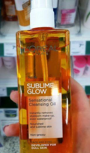 Sublime Glow – Sensational Cleansing Oil