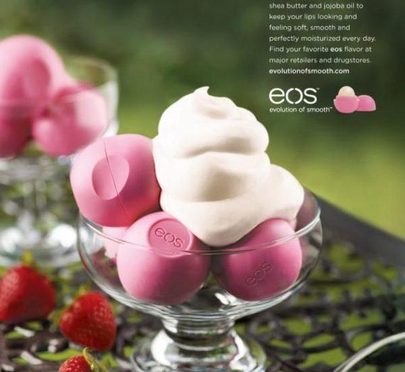 Lip Balm Sphere – Strawberry Sorbet