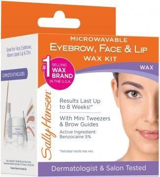 Microwaveable Eyebrow, Face & Lip Wax