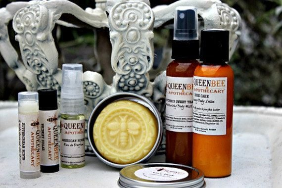 Queen Bee Apothecary  (all scents)