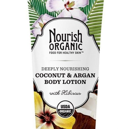 Organic – Deeply nourishing coconut & argan body lotion