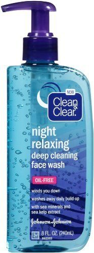 Night Relaxing Deep Cleansing Face Wash