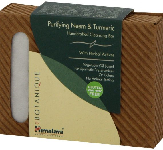 Himalaya Herbal Healthcare Neem and Turmeric cleansing bar