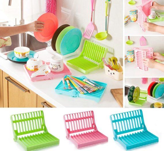 Foldable Plastic Dish Drain