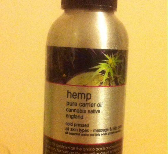Pure Hemp carrier oil