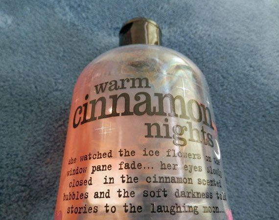 Warm Cinnamon Nights Bath & Shower Gel