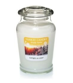 Yankee Candles Sunlight on snow