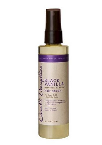 Black Vanilla hair sheen