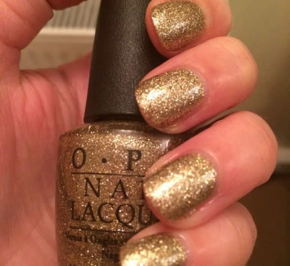 All Sparkly And Gold