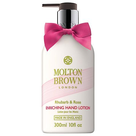 Rhubarb and Rose Hand Lotion