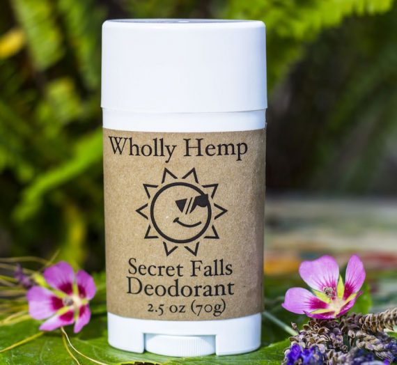 Wholly Hemp – Secret Falls Deodorant