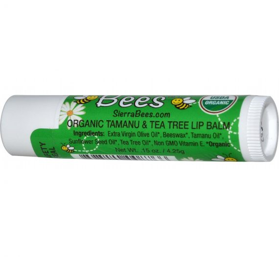 Sierra Bees – Organic Tamanu & Tea Tree Lip Balm