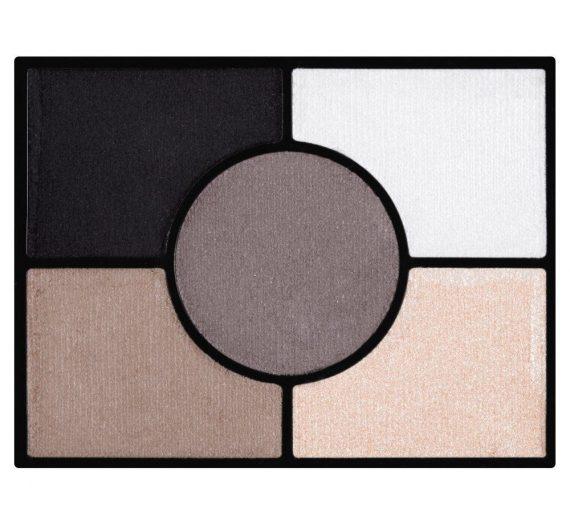 Glam Eyes HD 5 Colour Eye Shadow 023 Foggy Grey