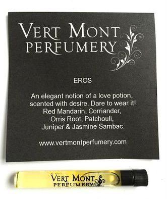 Vert Mont Perfumery Eros Wellness Perfume