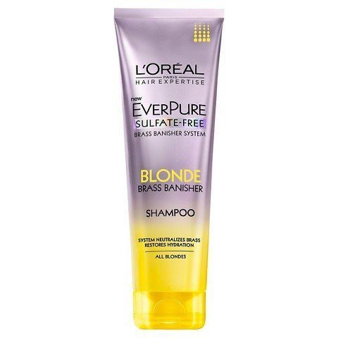 EverPure Sulfate Free Blonde Brass Banisher shampoo