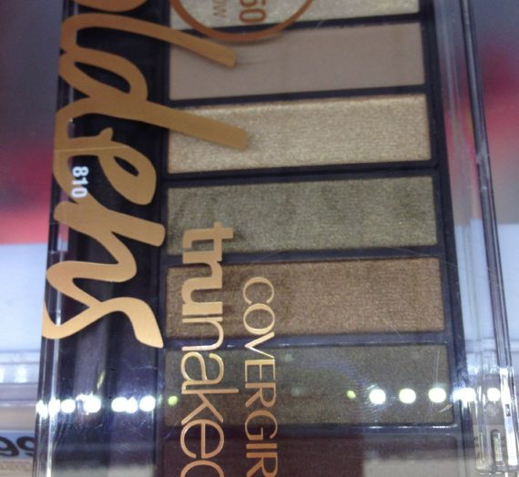 TruNaked Eyeshadow Palette – Goldens