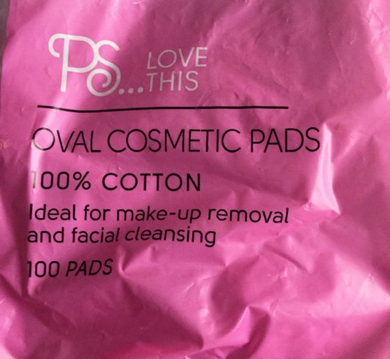 Primark PS…Love This Oval Cosmetic Pads
