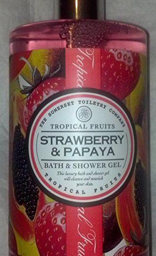 Papaya and Strawberry Moisturizing Soap