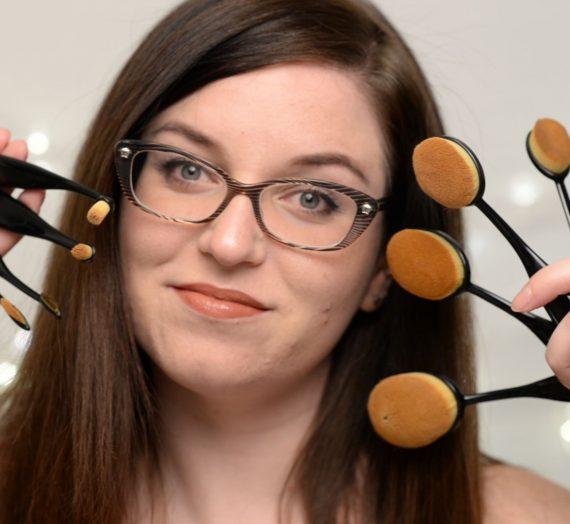 Primacc Oval Makeup Brush Set