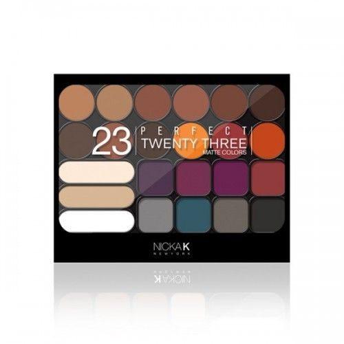 Nicka K Perfect 23 Matte colors